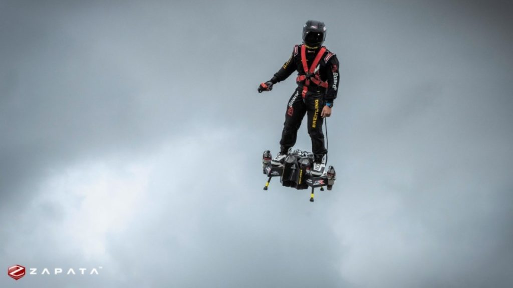 Jet-Powered Hoverboard by Zapata - The Viral Bros