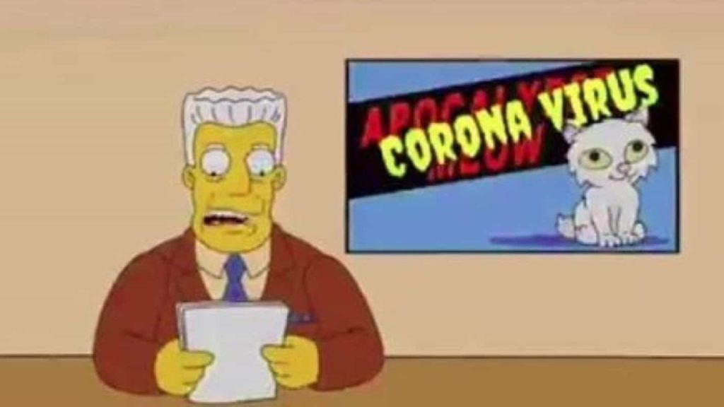 The Simpsons Predicted Coronavirus? | The Viral Bros