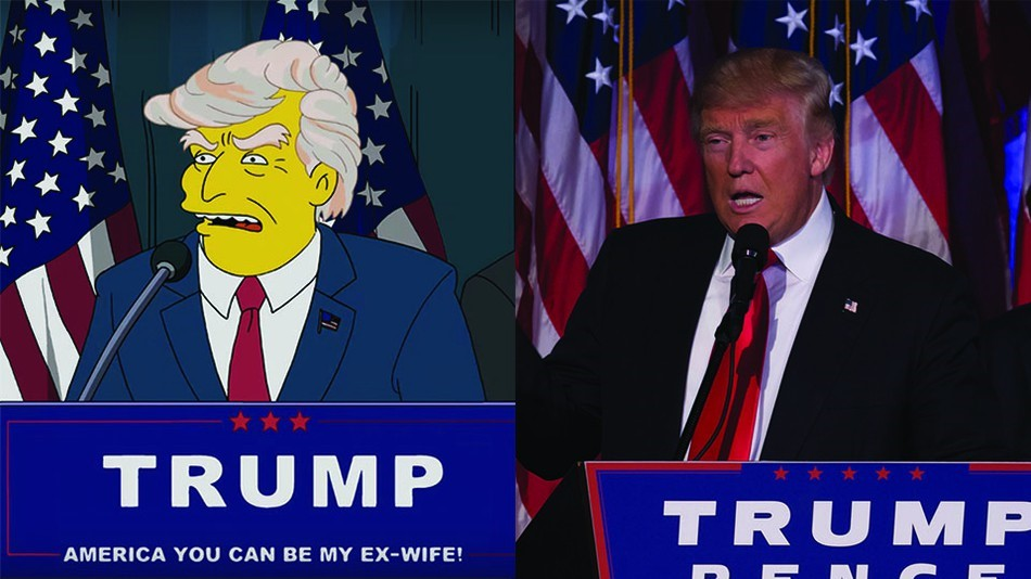 15 Times The Simpsons Predicted the future - Donald Trump | The Viral Bros