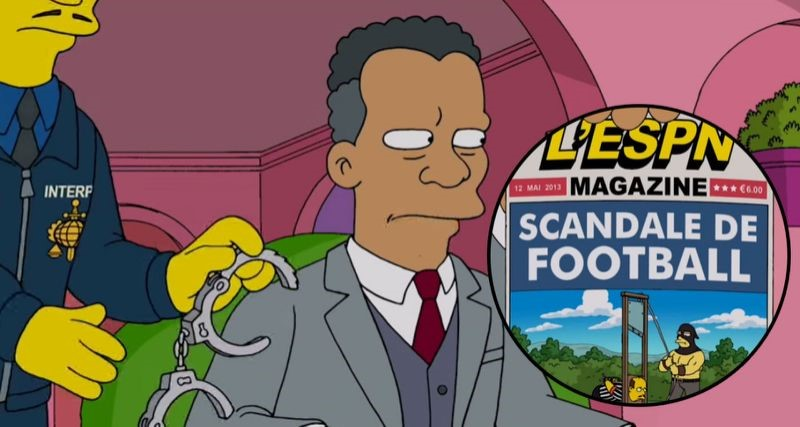 The Simpsons Predicted the future - FIFA Corruption Scandal | The Viral Bros