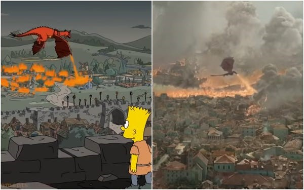 15 Times The Simpsons Predicted the future - Game of Thrones | The Viral Bros