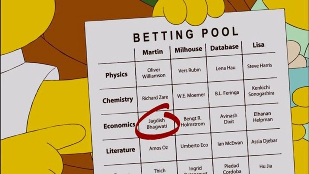 The Simpsons Predicted the future - Nobel Prize | The Viral Bros