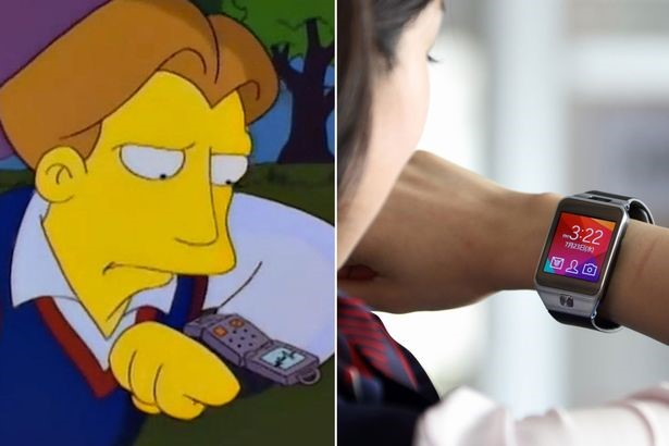The Simpsons Predicted the future - Smartwatches | The Viral Bros