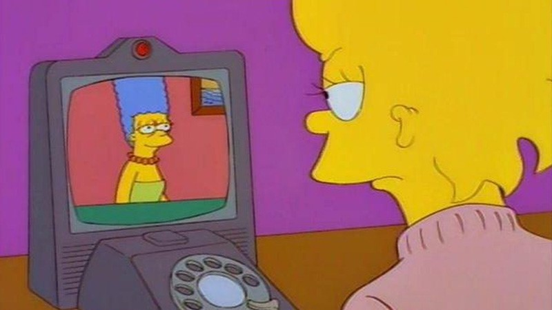 The Simpsons Predicted the future - Video calling | The Viral Bros